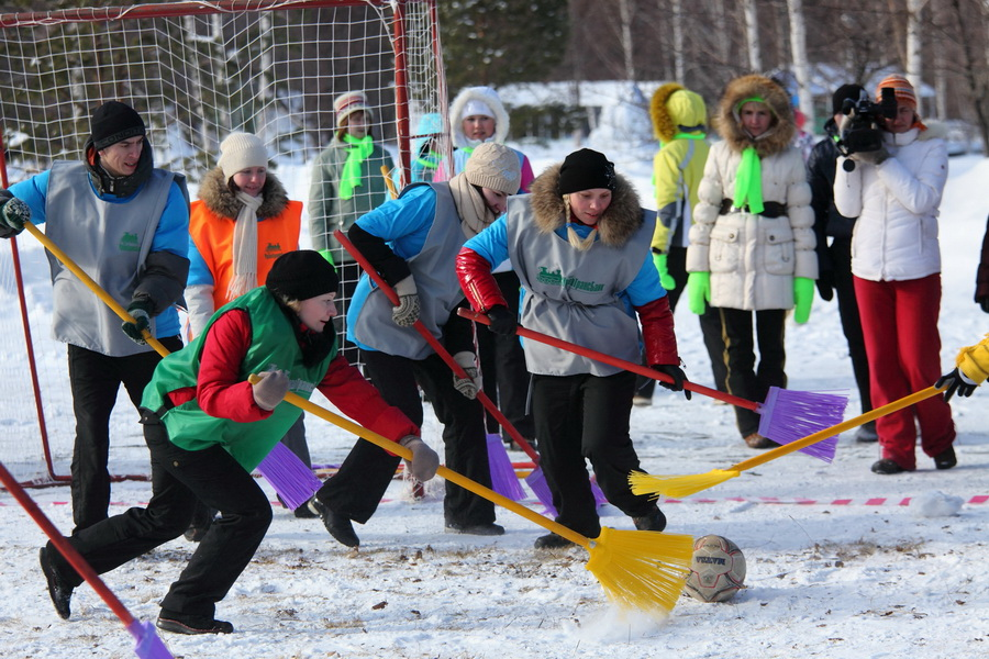 Конкурсы для детей зимние на улице